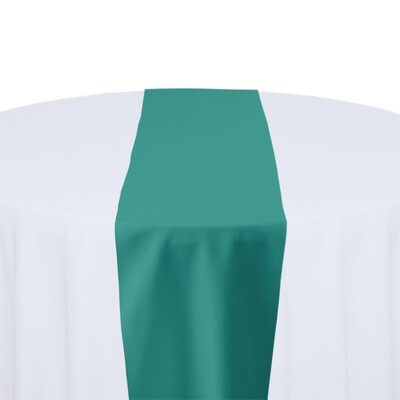 Jade Table Runner Rentals - Polyester