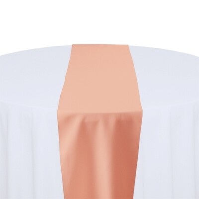 Coral Table Runner Rentals - Polyester