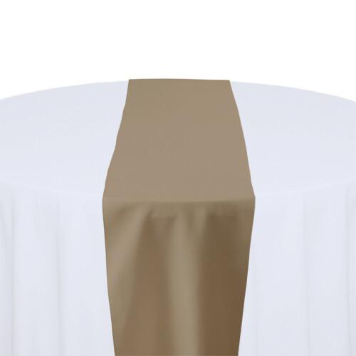 KhakiTable Runner Rentals - Polyester