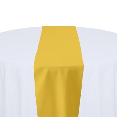 Goldenrod Table Runner Rentals - Polyester