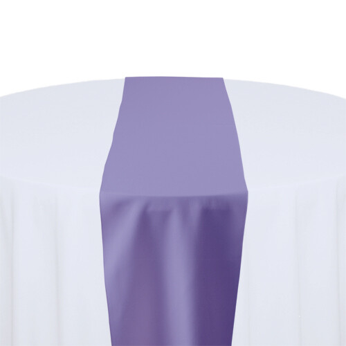 Lavender Table Runner Rentals - Polyester
