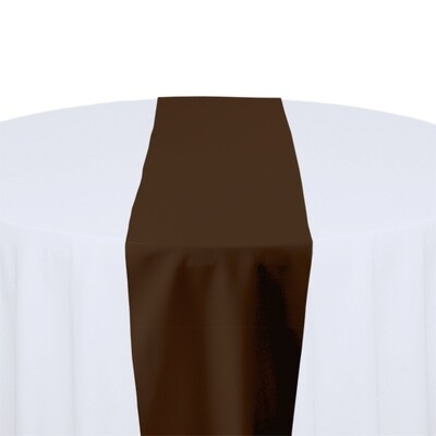 Brown Table Runner Rentals - Polyester