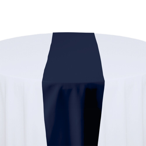 Dark Blue Table Runner Rentals - Polyester