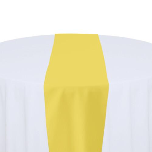 Lemon Table Runner Rentals - Polyester
