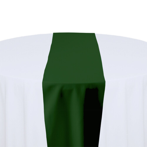 Moss Green Table Runner Rentals - Polyester