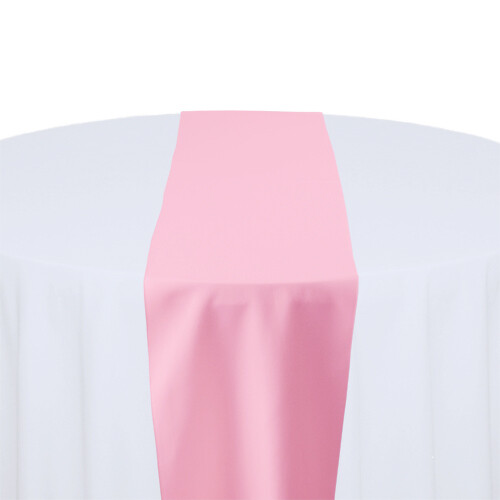 Pink Table Runner Rentals - Polyester