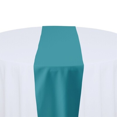 Turquoise Table Runner Rentals - Polyester