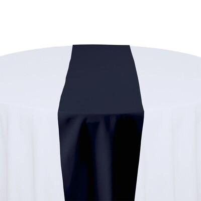 Navy Table Runner Rentals - Polyester