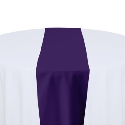 Purple Table Runner Rentals - Polyester