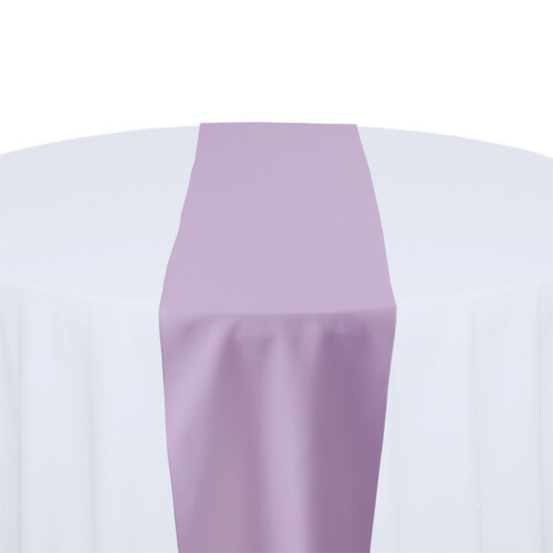 Lilac Table Runner Rentals - Polyester