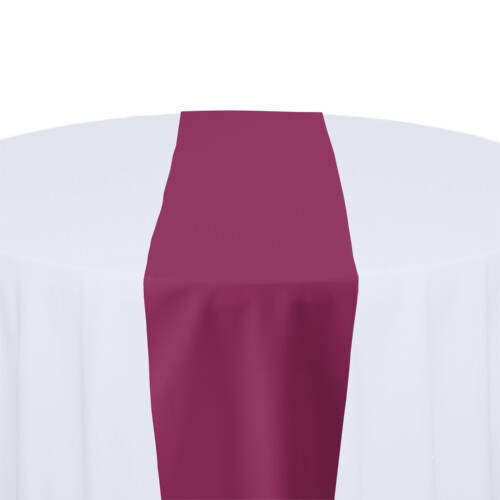 Raspberry Table Runner Rentals - Polyester