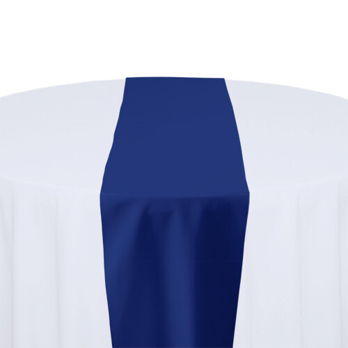 Royal Blue Table Runner Rentals - Polyester