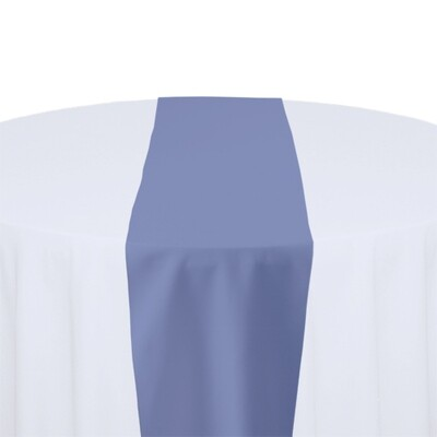 Periwinkle Table Runner Rentals - Polyester