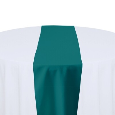 Teal Table Runner Rentals - Polyester
