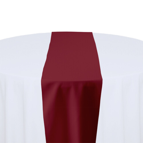Ruby Table Runner Rentals - Polyester