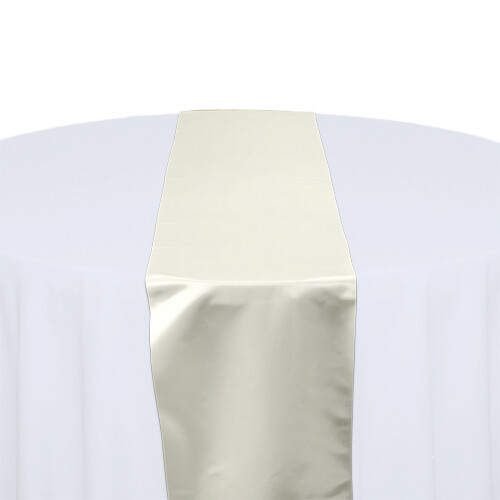 Ivory Table Runners Rentals
