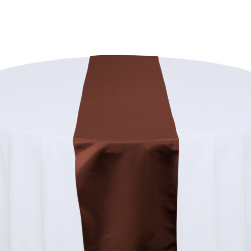 Copper Satin Table Runners Rentals