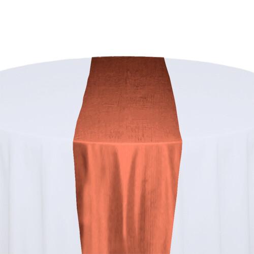 Coral Table Runner Rentals - Taffeta