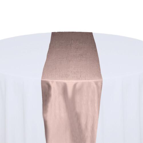 Blush Table Runner Rentals - Taffeta