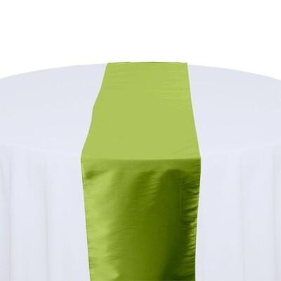 Kiwi Table Runner Rentals - Taffeta