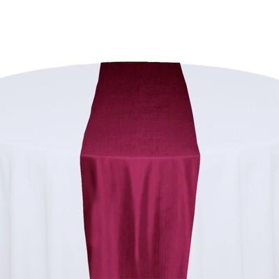 Fuchsia Table Runner Rentals - Taffeta