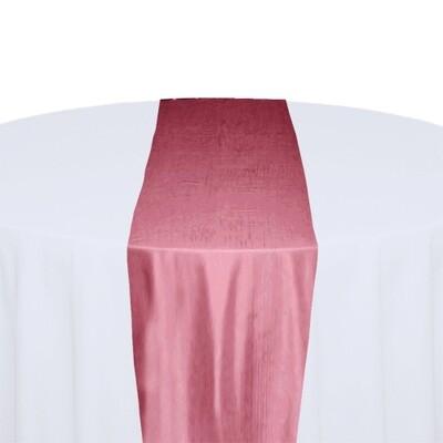 Pink Table Runner Rentals - Taffeta