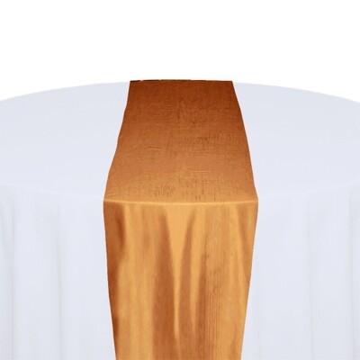 Orange Table Runner Rentals - Taffeta