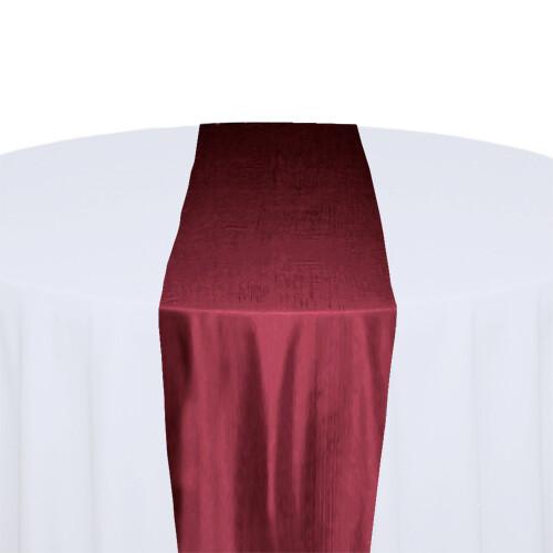 Ruby Table Runner Rentals - Taffeta