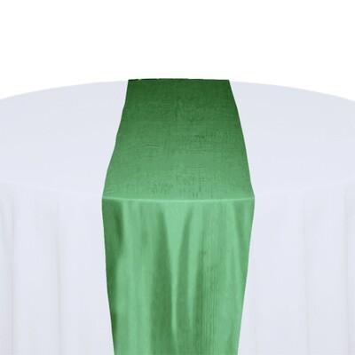 Sage Green Table Runner Rentals - Taffeta