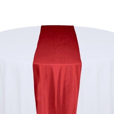 Red Table Runner Rentals - Taffeta