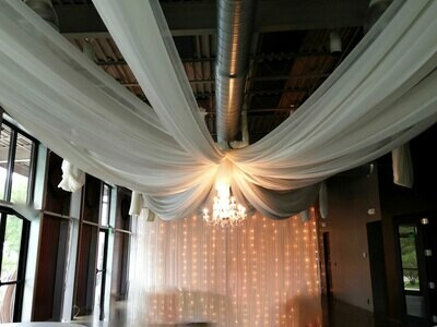 Jasper Winery Ceiling Draping