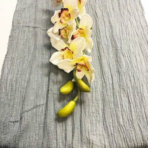 Grey Table Runner Rentals - Cheesecloth