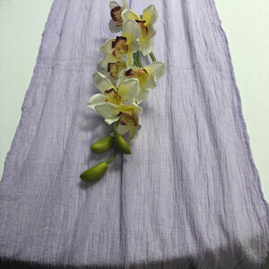 Lilac Table Runner Rentals - Cheesecloth