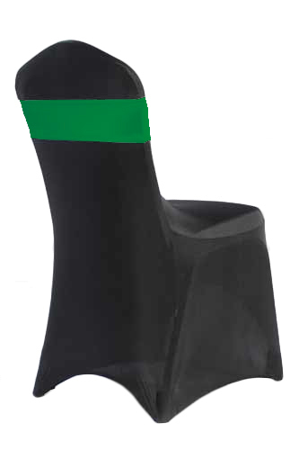 Kelly Green Spandex Chair Band Rental