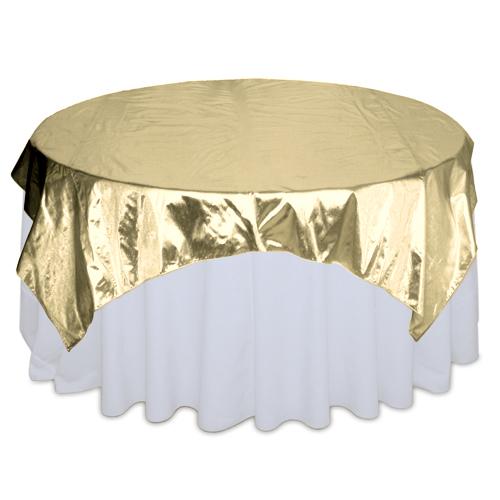 Gold Lamé Overlay Rental