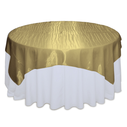 Bronze Mirror Table Overlay Rental