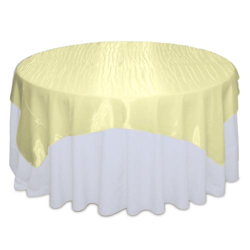 Yellow Mirror Table Overlay Rental