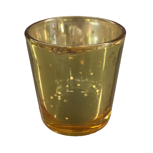 Gold Mercury Glass Votive Rentals