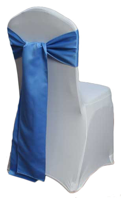Cornflower Blue Matte Satin Chair Sashes