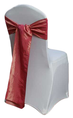 Dusty Rose Taffeta Chair Sashes