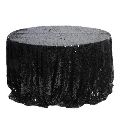 Black New York Dazzle Sequin Overlay Rentals - Mesh