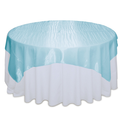 Tiffany Blue Mirror Table Overlay Rental