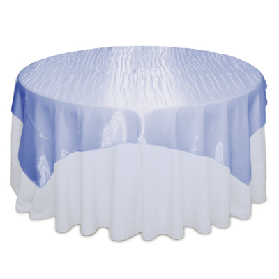 Periwinkle Mirror Table Overlay Rental