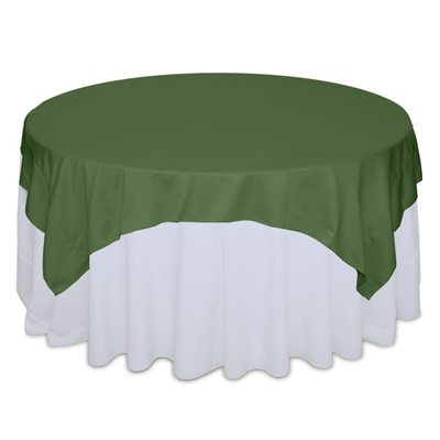 Clover Matte Satin Table Overlay Rental