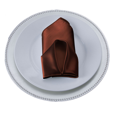 Copper Satin Napkins