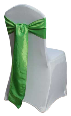 Chartreuse Green Taffeta Chair Sashes
