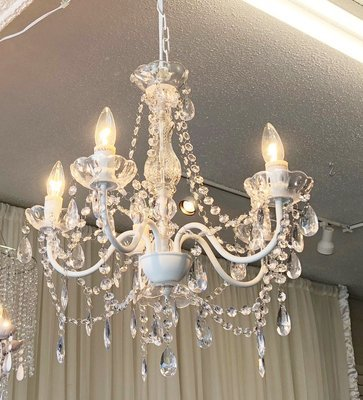 Clear Crystal Chandelier - 5 Light