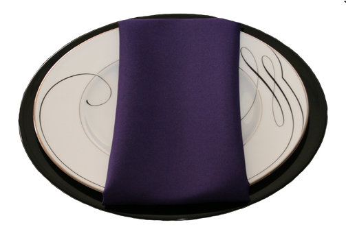 Purple Napkins
