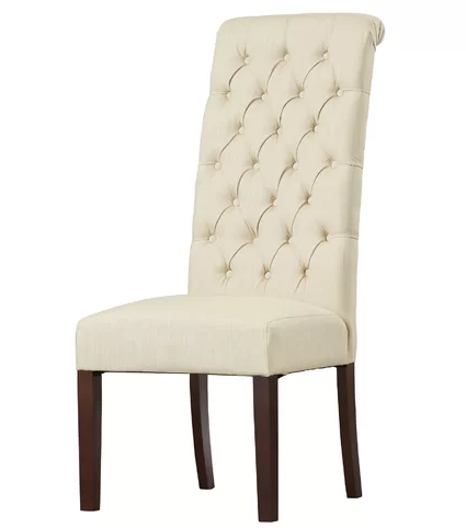 Bride and Groom Chair - Natural Linen