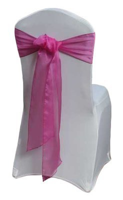 Azalea Chair Sashes - Organza Sheer